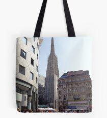 St. Stephen's Plaza, Vienna, Austria Tote Bag