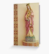 Statue of St Elizabeth of Hungary, Eureka Springs Greeting Card