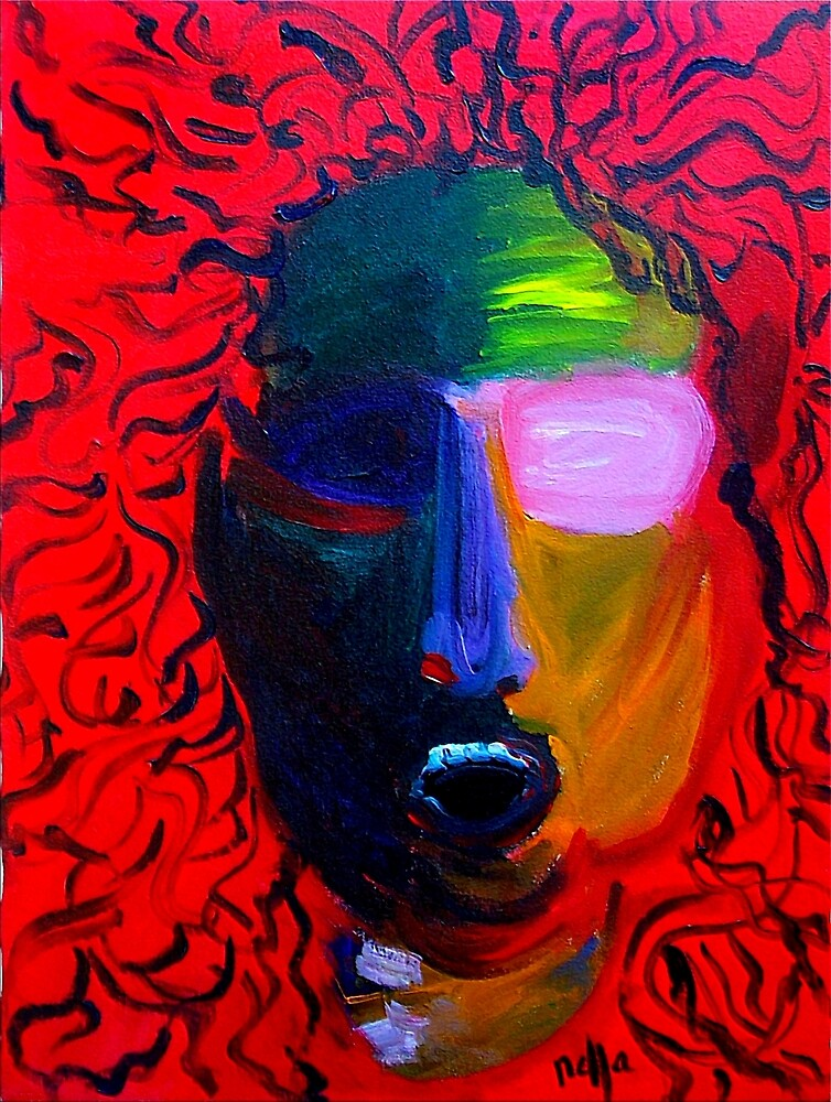 Self- Portrait as Medusa Gorgona by Nella Khanis