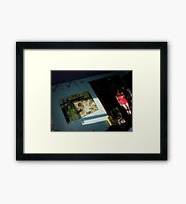 raw house Framed Print