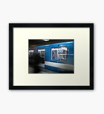 Subway's Ghosts Framed Print