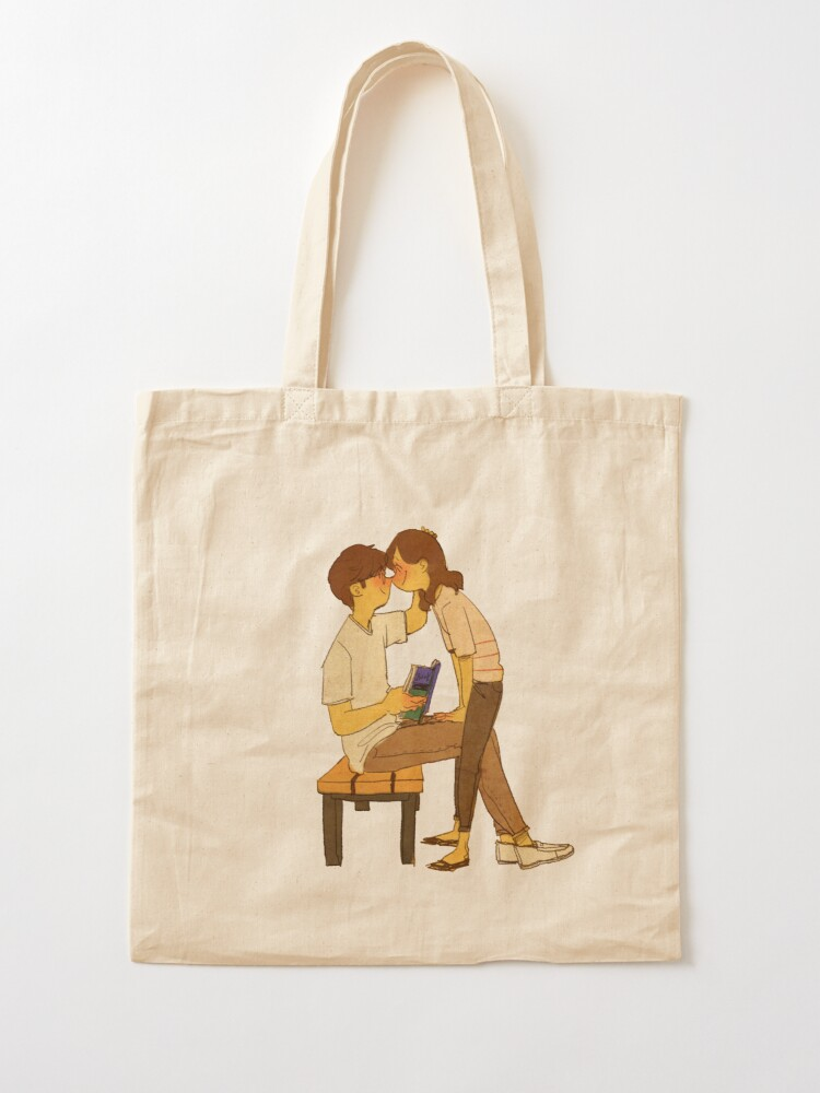 Alternate view of What are you doing? Tote Bag