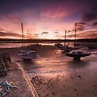 Beadnal Harbour Sunset by Dave Hudspeth