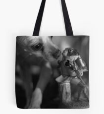 Chihuahua and the Quality Control Message Tote Bag