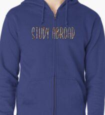 Study Abroad Zipped Hoodie