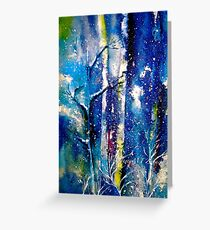Winter....Grateful Greeting Card