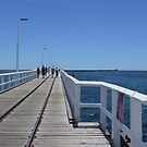 Starting The Jetty Walk by Rick Playle