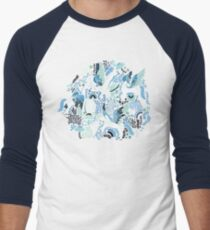 Pegasi Blues  Baseball ¾ Sleeve T-Shirt