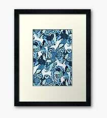 Pegasi Blues  Framed Print