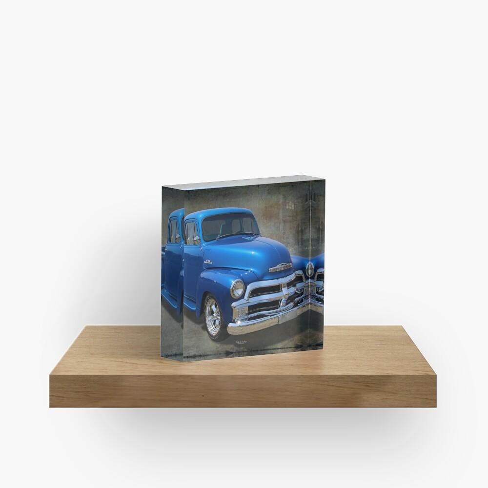 1954 Pickup Acrylic Block