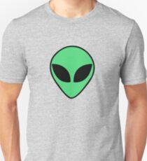 Alien Kopf Unisex T-Shirt