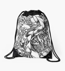 Doodle 1- Life Drawstring Bag