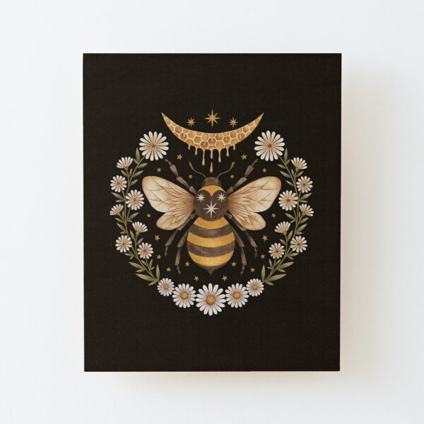 Honey moon Wood Mounted Print