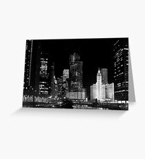 City signature - Chicago, IL Greeting Card
