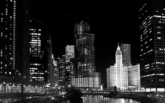 City signature - Chicago, IL by George Parapadakis ARPS (monocotylidono)