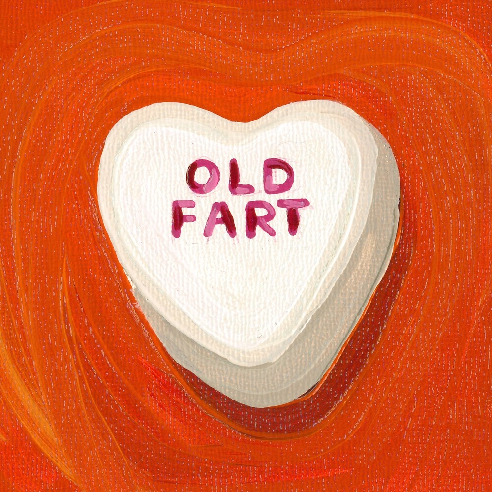 Old Fart - Conversation Heart  Valentine Candy by Lucinda  Storms
