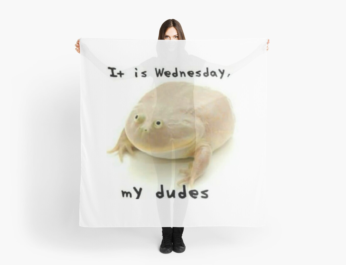 It is Wednesday my dudes\