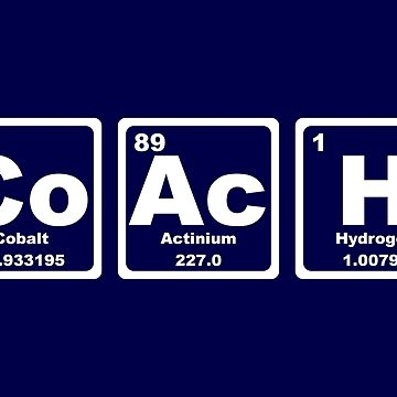 Coach - Periodic Table by graphix