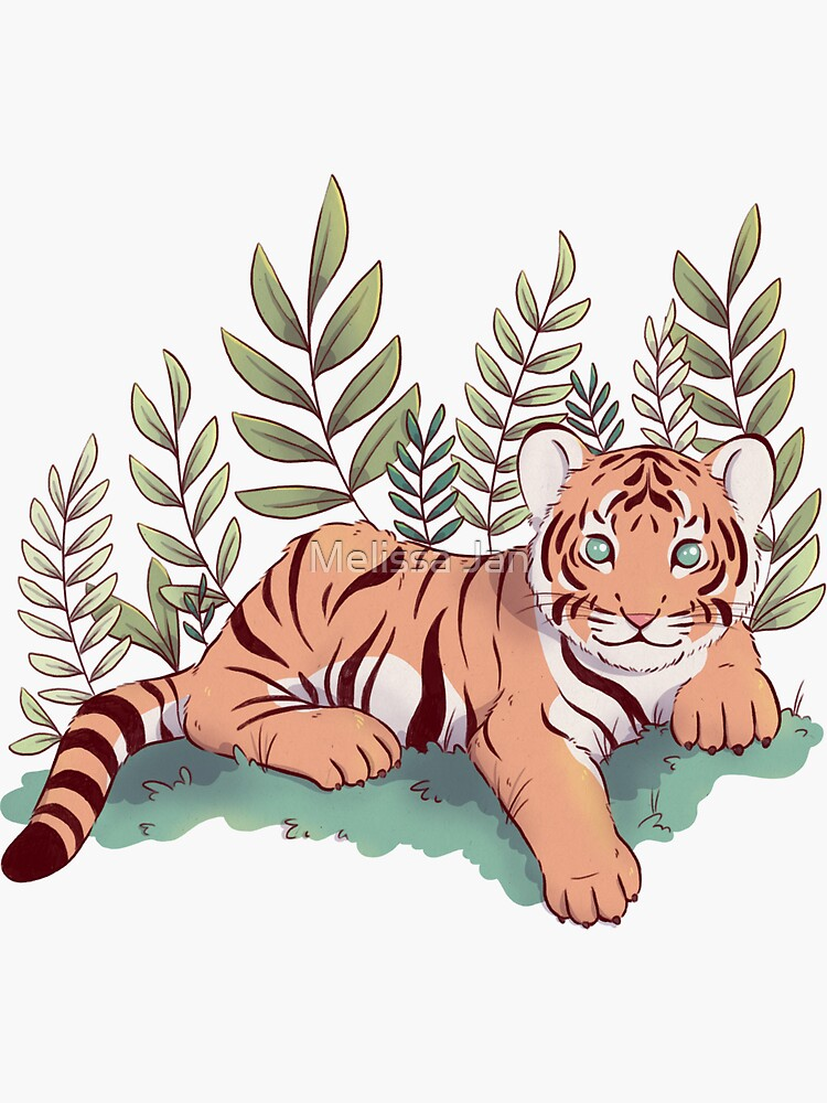 Tiger Cub by adelaydeart