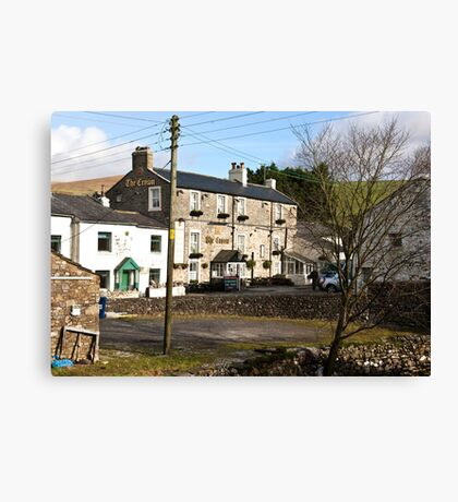 The Crown - Horton in Ribblesdale Canvas Print