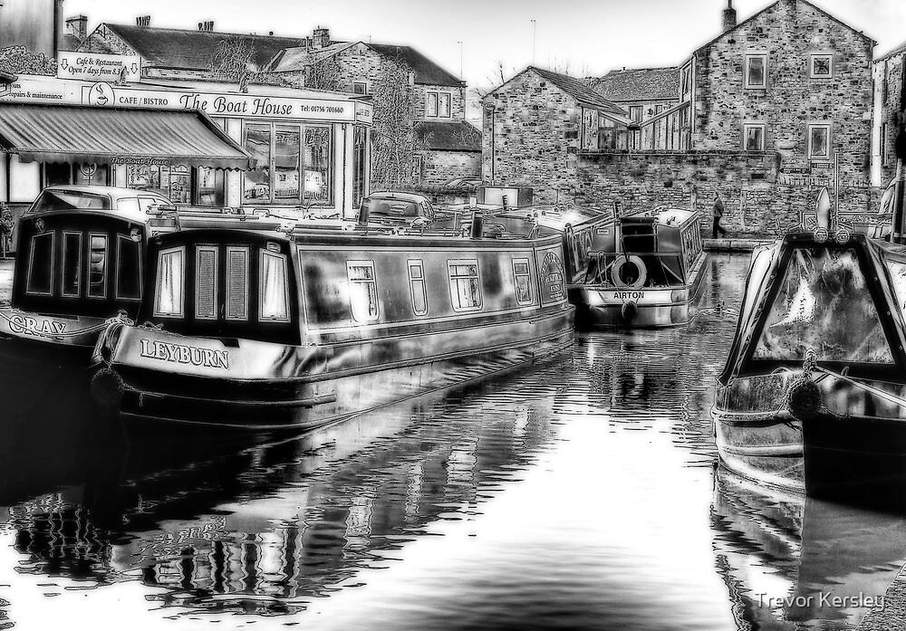 Skipton Canal Basin by Trevor Kersley