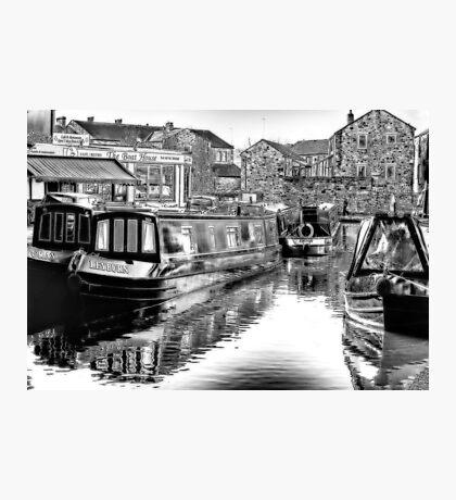 Skipton Canal Basin Photographic Print