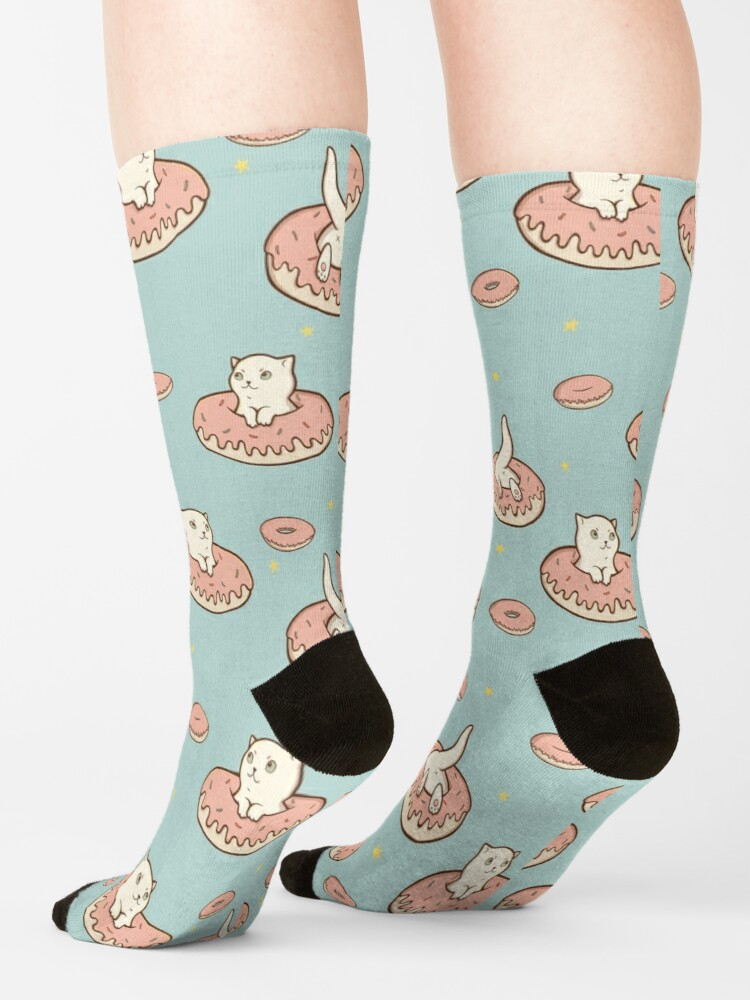 Alternate view of Cat Donut Socks