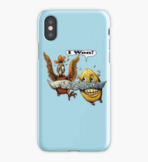Who came first? iPhone Case/Skin