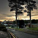 Burton Hospital Sunset View by nataraki76
