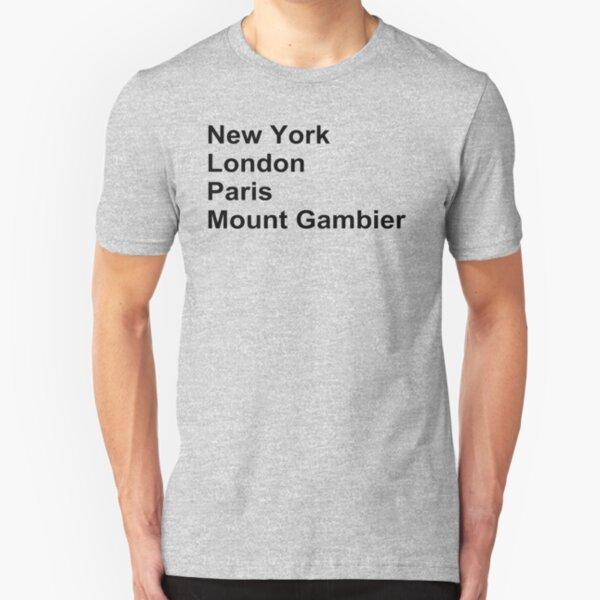New York London Paris Mount Gambier Slim Fit T-Shirt