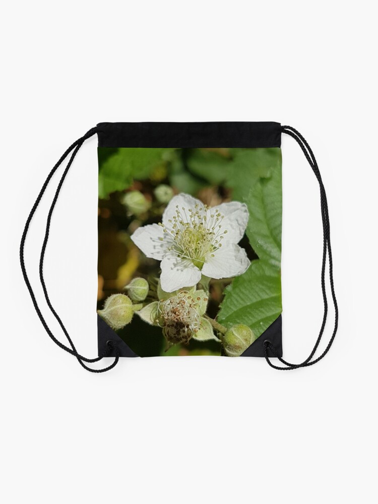 Alternate view of Bramble Blossom Drawstring Bag