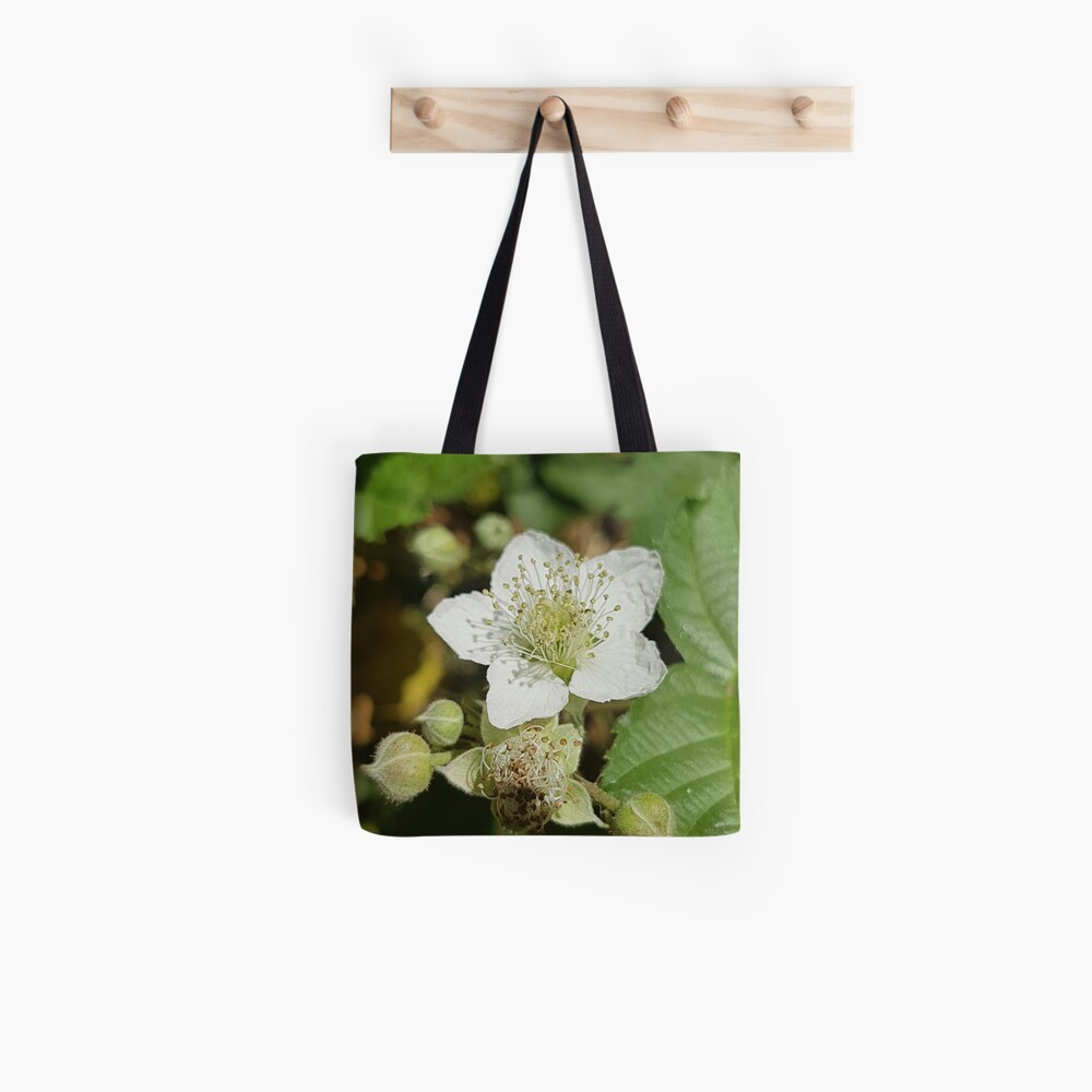 Bramble Blossom Tote Bag