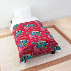 Gumball Watterson from The Amazing World of Gumball™ Ugly Christmas Design! Comforter