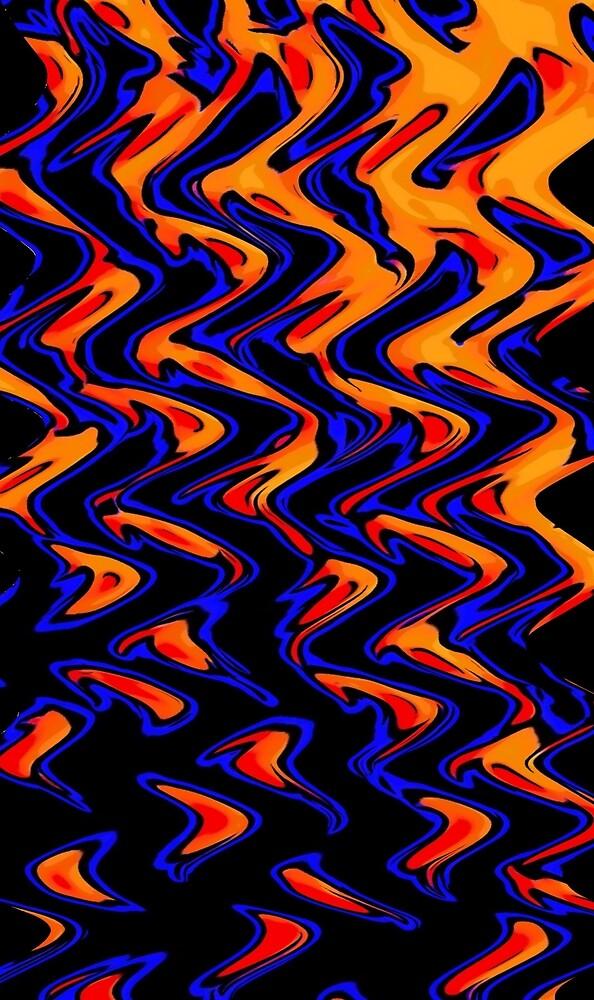 FLAMING WATERS by paulvolker