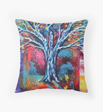 'The Dreaming Tree' Throw Pillow