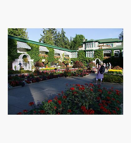 The Italian Garden at Butchart's (1) Photographic Print