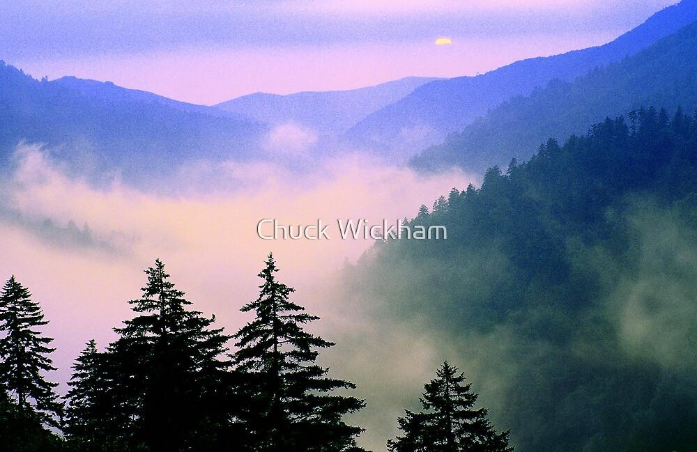 MISTY SUNSET by Chuck Wickham
