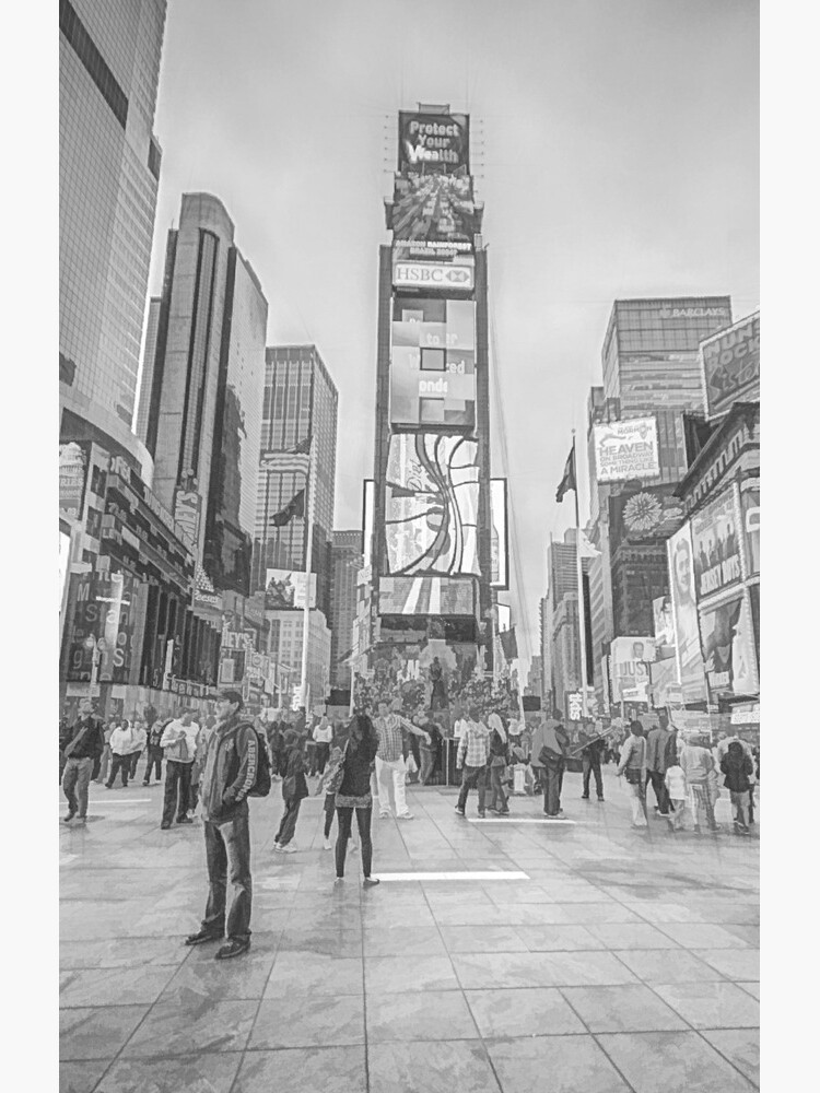Times Square Sparkle (pencil sketch) by RayW