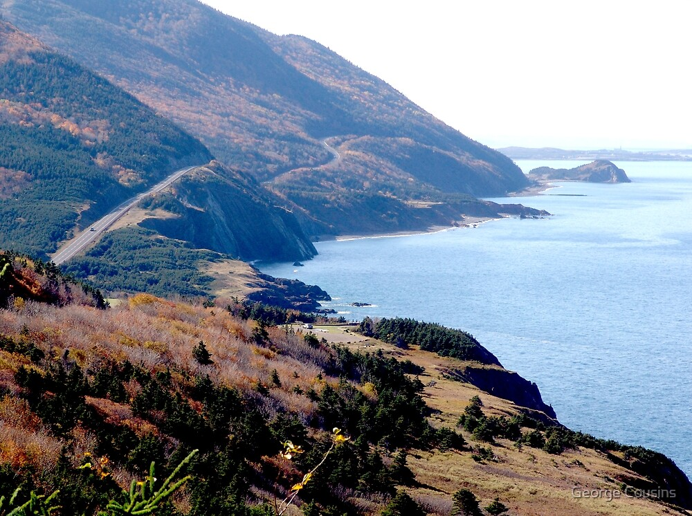 Cap Rouge, Cabot Trail by George Cousins