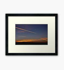 Business Travel Framed Print