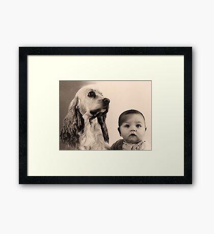 Our Children Framed Print