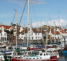 Anstruther Harbour  by simpsonvisuals