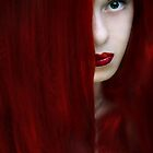 While her lips are still red by Amalia Iuliana Chitulescu