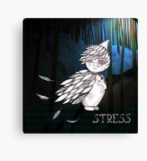 Stress Canvas Print