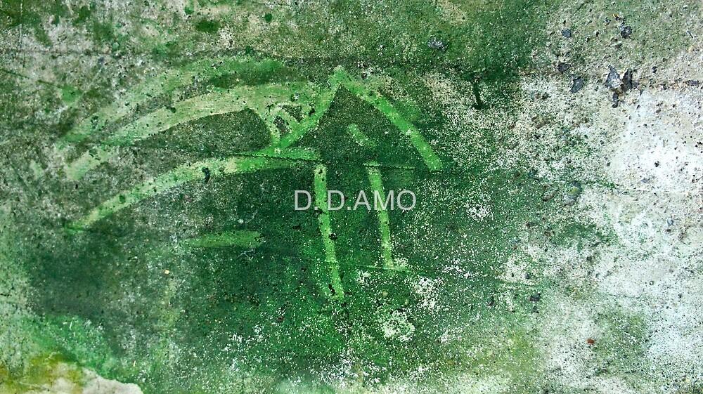 Green wall by D. D.AMO