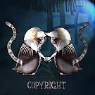 Copyright and The Copycat by rosell
