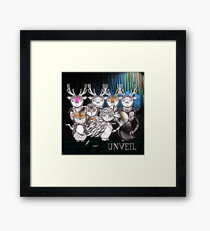 Unveil And Take A Bow Framed Print