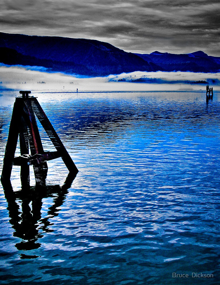 midstream by Bruce  Dickson