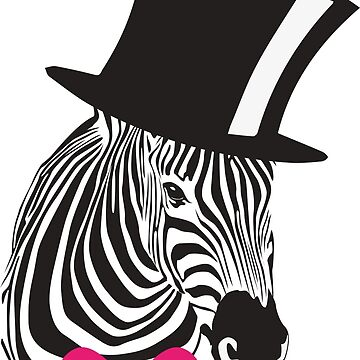 Fancy Zebra T-Shirt by juankdef