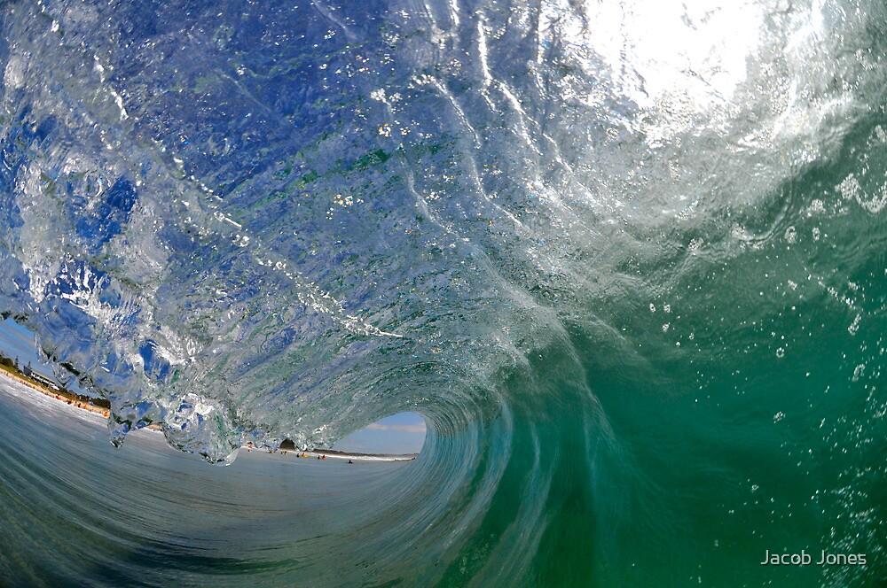 Glassy Barrel - Lennox Head Surfclub by Jacob Jones